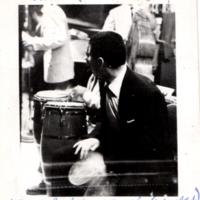 Tito Puente Band performing at The Palladium with Johnny Rodríguez, Sr. (La Vaca) sitting in