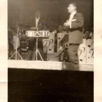 Tito Puente Band performing at the Apollo Theatre