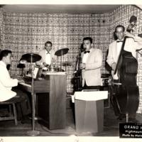 Lou Pérez Quartet performing at Grand Hotel, Highmont, New York