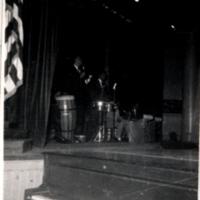 Hugo Dickens Band performing at the Bronx Veteran's Hospital
