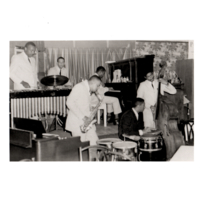 Pucho's Band performing at Sugar Hill Club, Catskills, New York